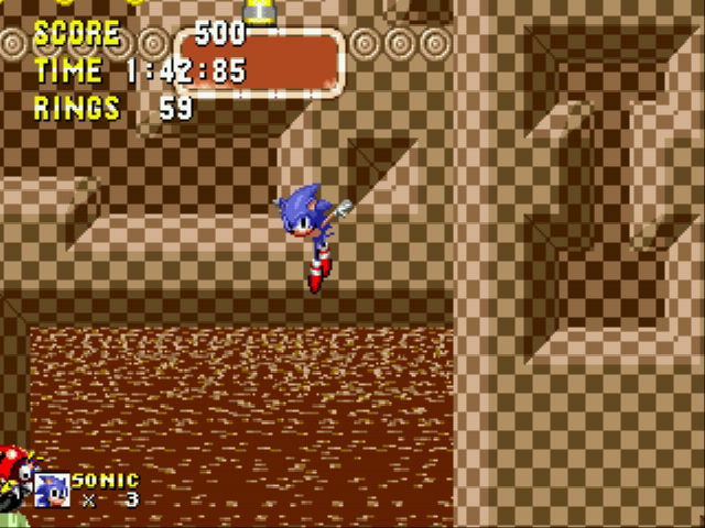 Sonic 1 Megamix (v3.0) - Level  - oh yeah - User Screenshot